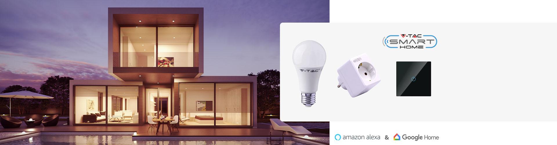Rendi la tua casa SMART con i prodotti V-TAC