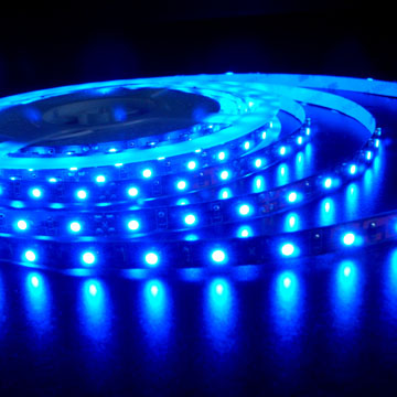 STRISCIA 300 LED BLU 5 METRI IMPERMEABILE