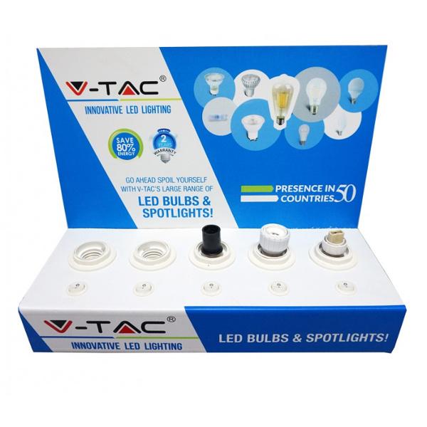 v-tac  TESTER PROVA LAMPADINE DA BANCO VTAC LED9523