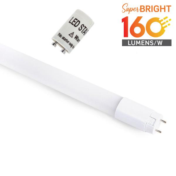v-tac VT-1607 TUBO A LED NANOPLASTICA 7W BIANCO CALDO 1085LM 60CM  LED6474