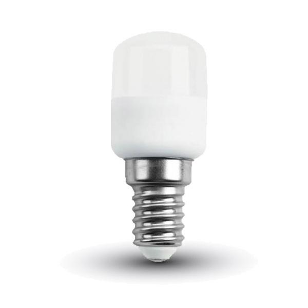 V tac lampadina led e14 2w bianco naturale tubolare st26 for Lampada tubolare led