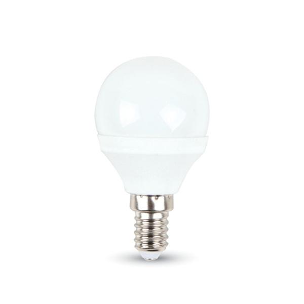 v-tac VT-2043 LAMPADINA LED E14 3W BIANCO NATURALE A BULBO LED7200