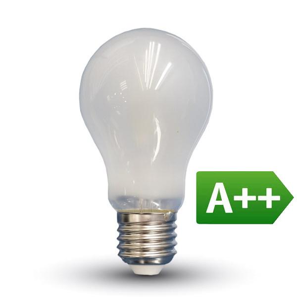 v-tac VT-2049 LAMPADINA LED E27 FIL. SATINATA 9W BIANCO NATURALE LED7185