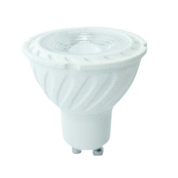 v-tac VT-247 LAMP. LED GU10 SMD 6,5W 110 GRADI BIANCO CALDO SAMSUNG LED192