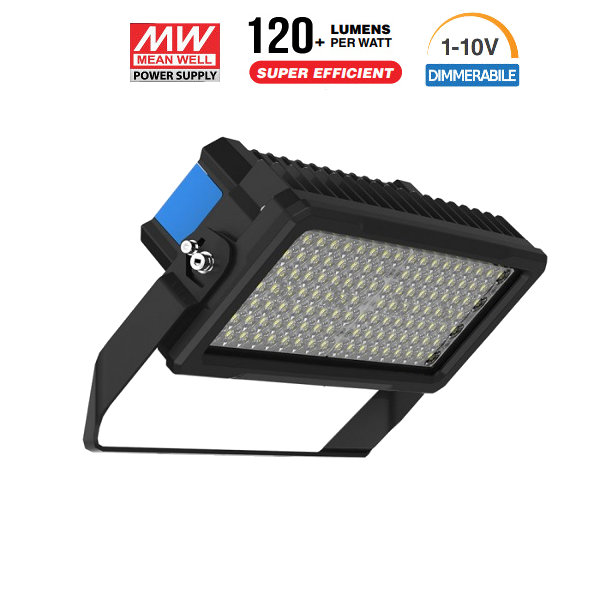 v-tac VT-253D FARO LED 250W NATURALE NERO DIMMERABILE 60 GRADI C. SAMSUNG LED494