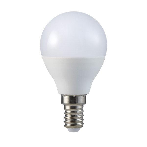 v-tac VT-270 LAMP. LED E14 7W BIANCO FREDDO A BULBO CHIP SAMSUNG LED865