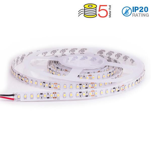 v-tac VT-3528IP20600 STRISCIA 600 LED BIANCO CALDO 5 METRI NON IMPERMEABILE LED2025