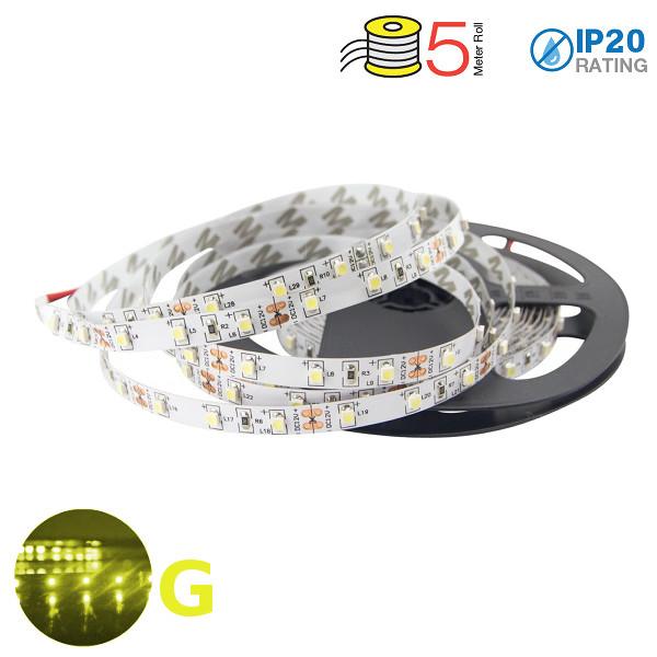 v-tac VT-3528IP20300 STRISCIA 300 LED GIALLA 5 METRI NON IMPERMEABILE LED2009
