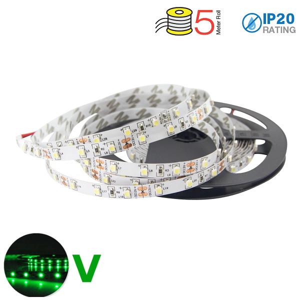 v-tac VT-3528IP20300 STRISCIA 300 LED VERDE 5 METRI NON IMPERMEABILE LED2011