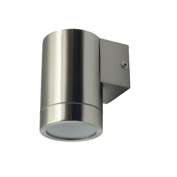 v-tac VT-7641 LAMPADA DA PARETE 1 ATTACCO GU10 INOX LED7506