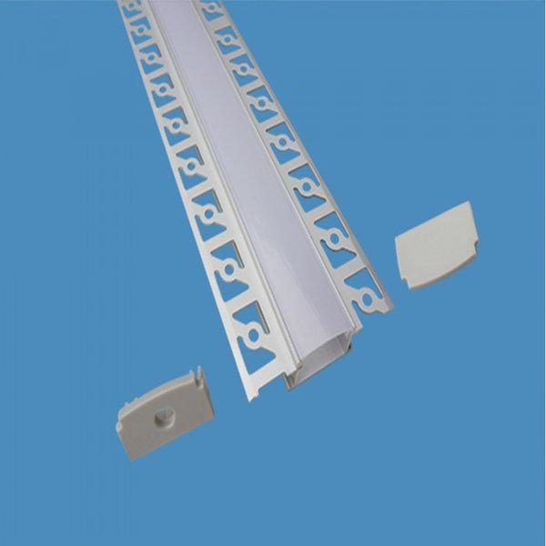 V Tac Sku 3359 Profilo Alluminio Per Strisce Led Da 2mt Opaco
