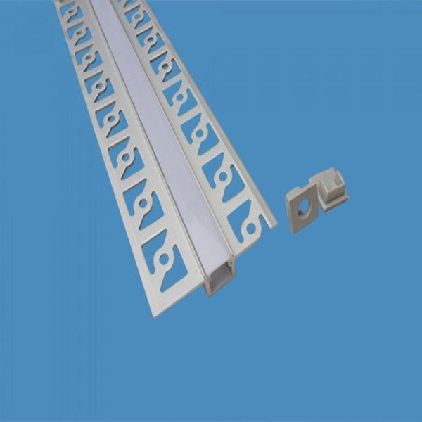 V Tac Sku 3360 Profilo Alluminio Per Strisce Led Da 2mt Opaco
