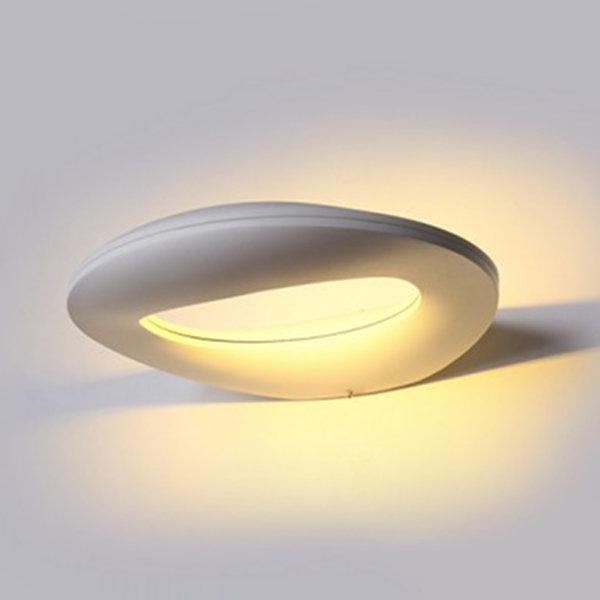 v-tac VT-811 LAMPADA LED 10W BIANCO NATURALE CORPO BIANCO DA PARETE IP65 LED8308