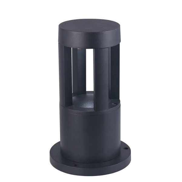 LAMPADA LED 10W BIANCO NATURALE CORPO NERO DA TERRA IP65